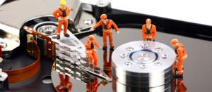 Il recupero dati professionale da hard disk