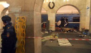 La news della settimana: l'esplosione nella metro di San Pietroburgo
